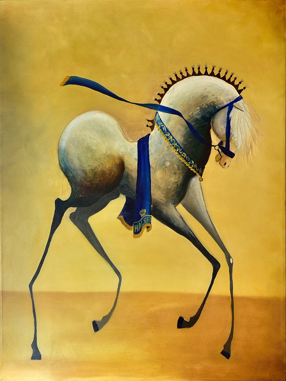 Haleb | Oil on Canvas | Serie Cornipedes