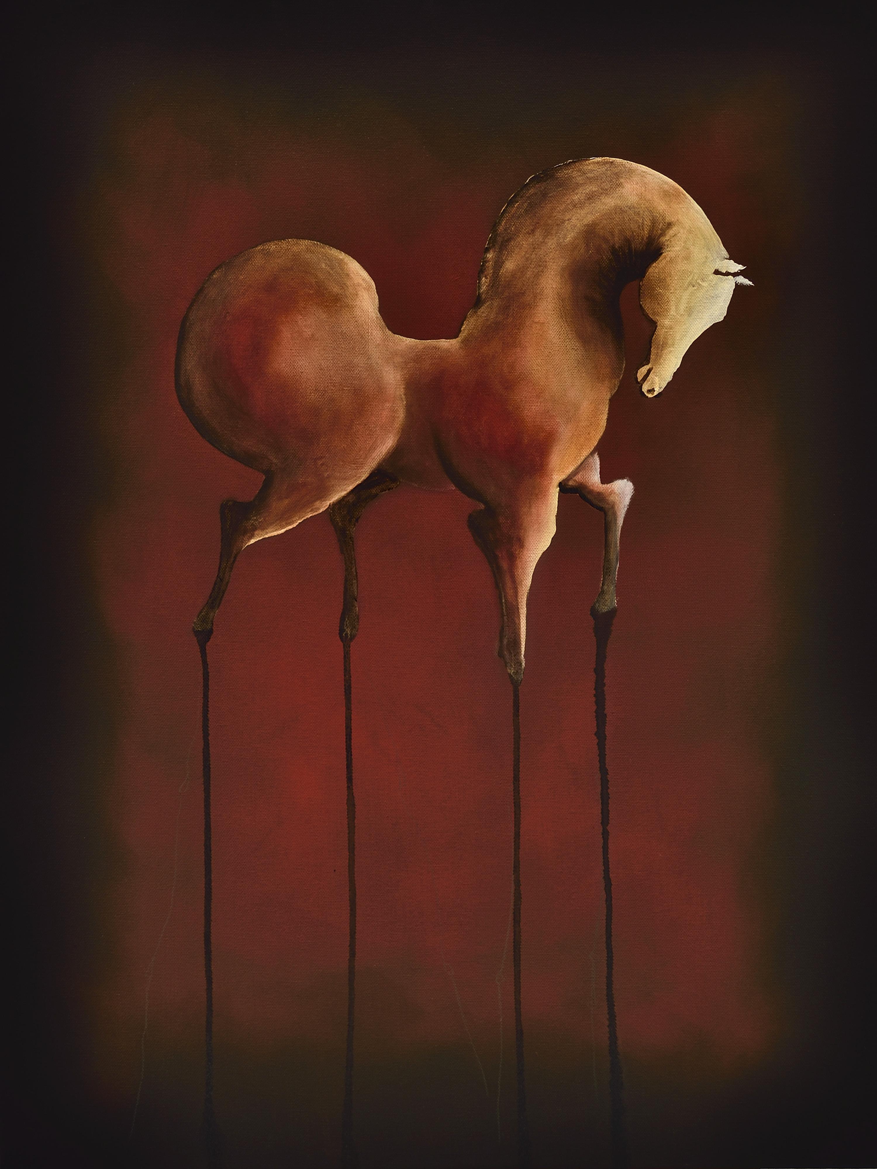 Sereno | Serie Cornipedes | Oil on Canvas