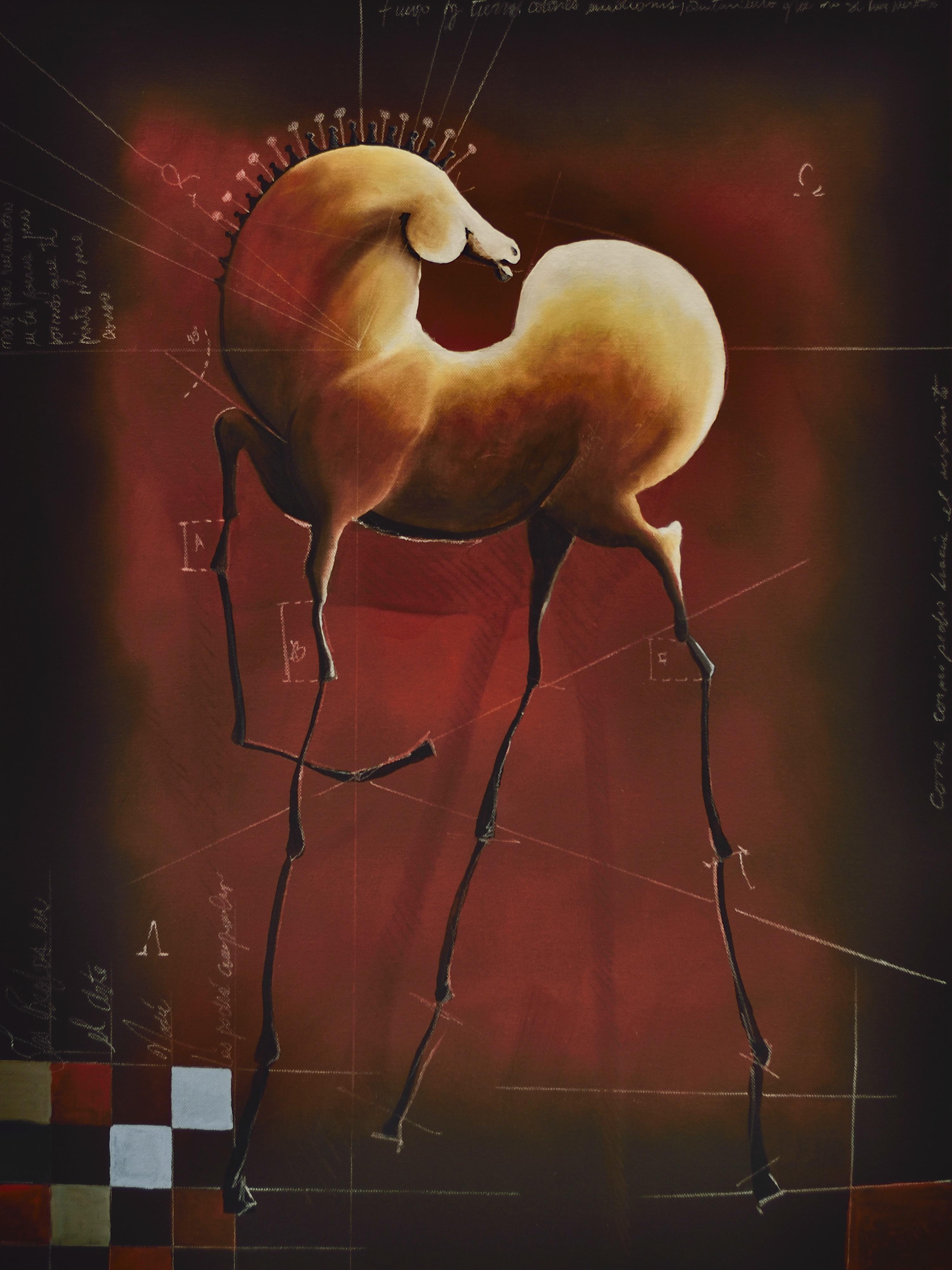 Alpha Omega | Oil on Canvas | Serie Cornipedes