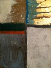 Essay «Color-Texture-Contrast» N°14 | Mixed Technique on Canvas