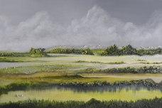 """Landscape Serie """"Gloria des Tages"""" Oil on Canvas 80 cm x 60 cm 2014"""