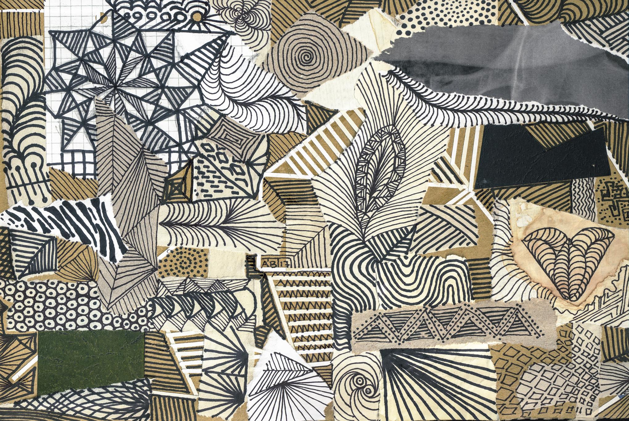 Linien und Mustern